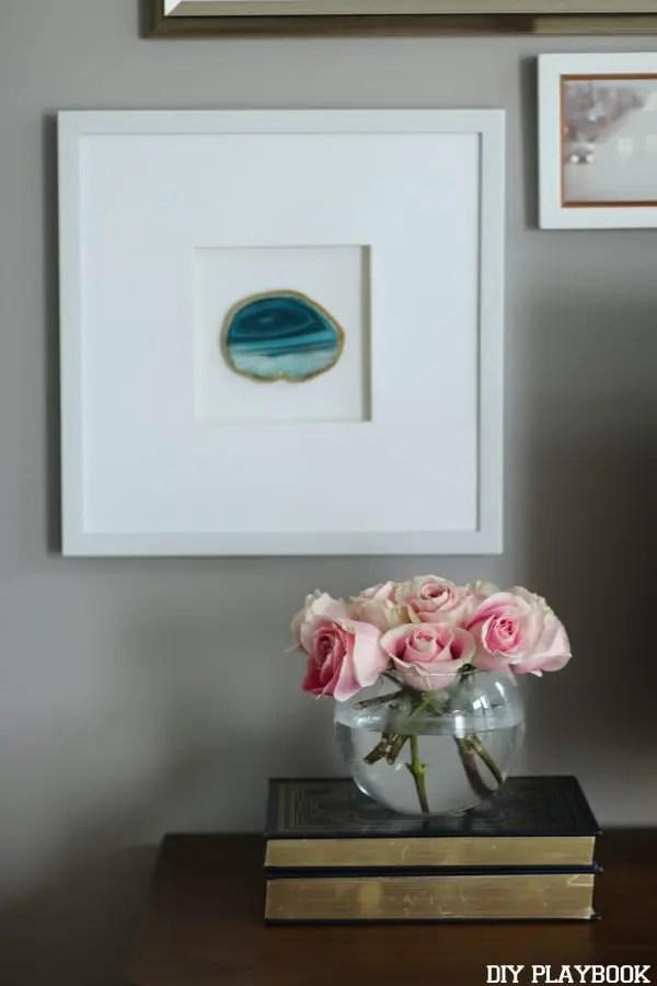 Maggie Bedroom Roses Gallery Wall