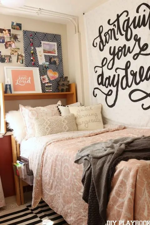 Dorm Room Makeover Reveal with Dormify