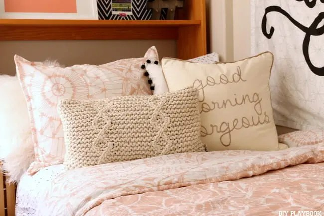 dorm room pillows dormify