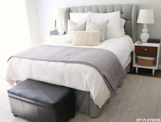 Master Bedroom Progress New Rug