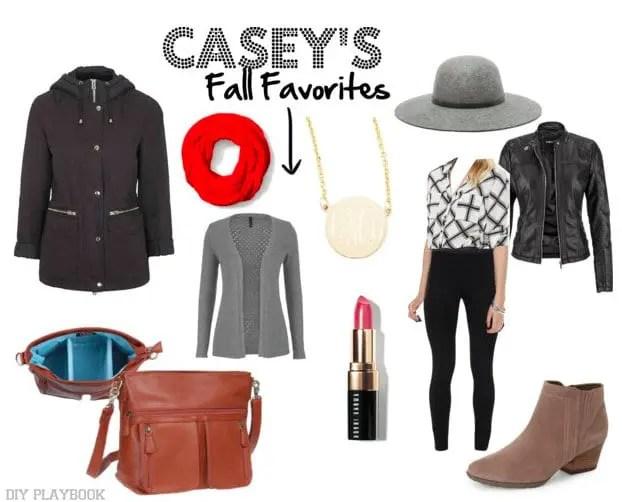 Casey's Fall Fashion Favorites Mood Board