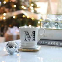 Coffee Mug Ornament Christmas