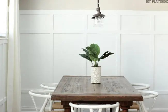 Dining Room Board and Batten