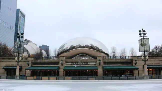 Chicago Bean and Ice Rink