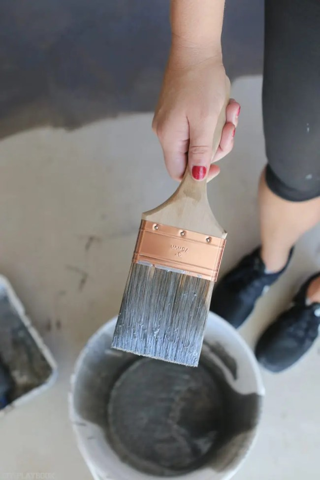 diy-garage-epoxy-rustoleum-paint-brush