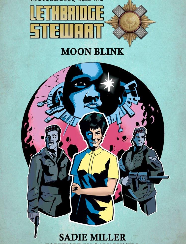 Moon Blink Lethbridge-Stewart cover