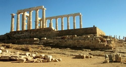 Temple of Poseidon, Cape Sounion ©DDB
