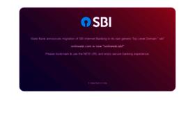 onlinesbi.com info. Welcome to OnlineSBI