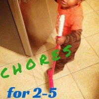 21 Age Appropriate Chores for 2-5 Yr Olds