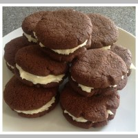 Easter Baking ~ Chocolate and Mint Biscuits