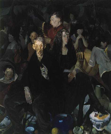 An Anniversary, Edwin Dickinson, Oil on Canvas, Albright Knox Art Gallery