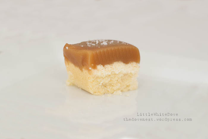 sea salt caramel shortbread