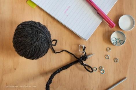 WIP Wednesday knitting