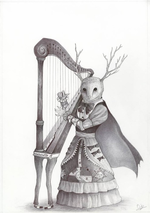 David Griessel, Olivia and her shy harp