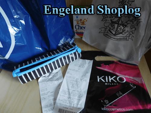 shoplog engeland