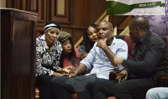 Nnamdi Kanu in court