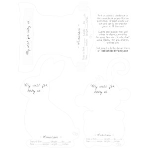 Grande Print This Template Pdf File Monkey Are Onquality Card If You Have Trouble Accessing You Can Download Fresh Approach To An Eco Friendly Baby Shower