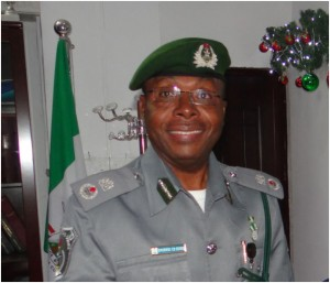 Controller, Apapa Area command of the Nigeria Customs Service (NCS), Comptroller Charles Edike