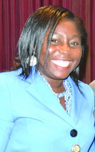 Temitope Akinfadeyi, Head, Financial Inclusion Secretariat, CBN