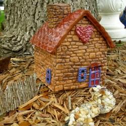 Small Of Fairy Garden Houses Outdoor