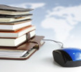 Online education and business concept.