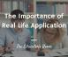 Real Life Application