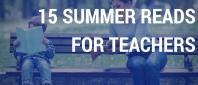Book list for teachers on break