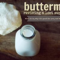 Buttermilk: What it is, why it's good and how to use it.