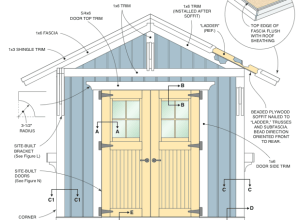 shed drawing