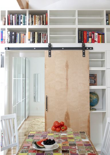 plywood barn door