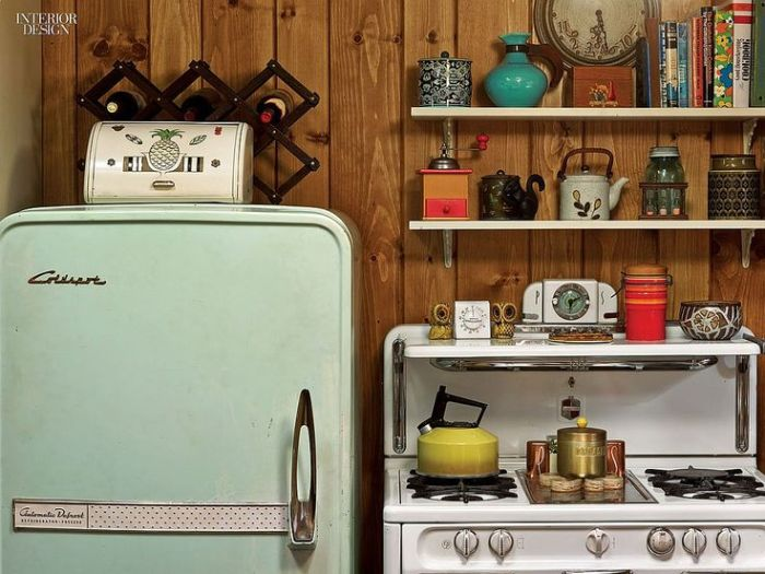 Megan Draper Home Decor Mad Men kitchen