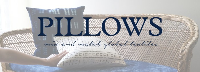 __Mudcloth Pillows by the estate of things
