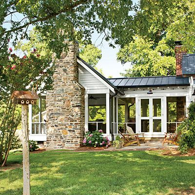 farmhouse screened porch