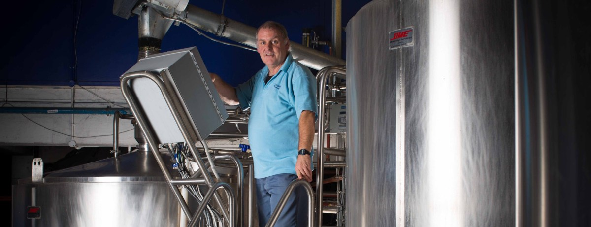 Spotlight: Paul Hurley the head brewer at the Liberation Brewery in Jersey