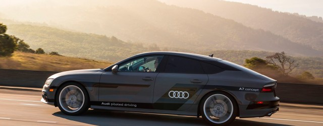 Audi Self driving A7