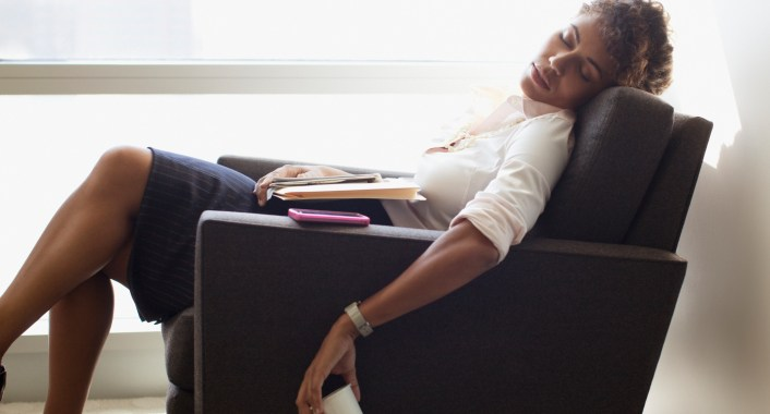 Not getting enough sleep is only one reason why people feel tired all the time