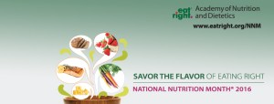 Savor the Flavor for National Nutrition Month