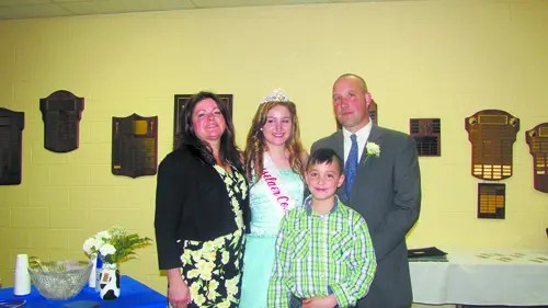 Isabella Wiley and family