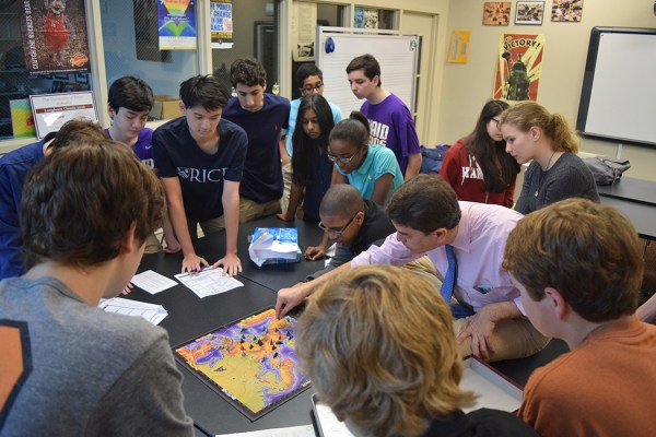 International Relations and Diplomacy, the game