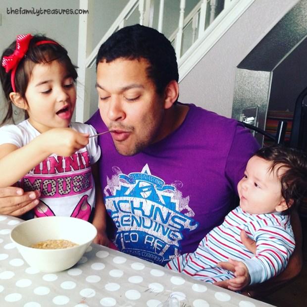 daddy breakfast