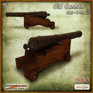 [V_W - Ginger Line] Old Cannon