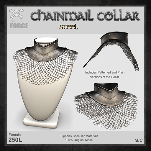Forge-Chainmail-Collar-Steel