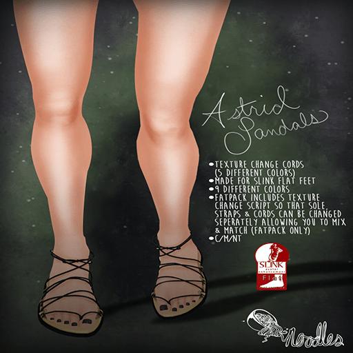 Noodles - Astrid Sandals