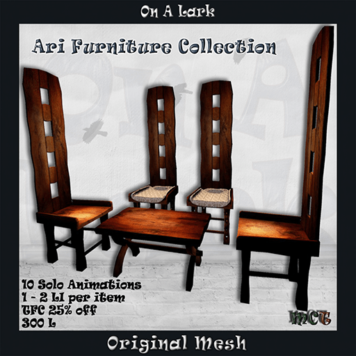 _OAL_ Ari Furniture Collection