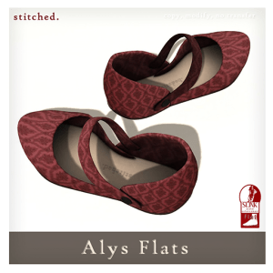 [Stitched] Alys Flats AD