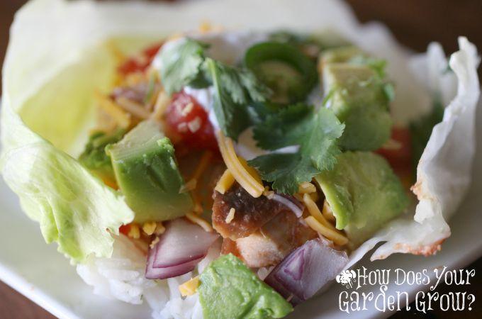 Mexican Lettuce Wraps - Feature 1