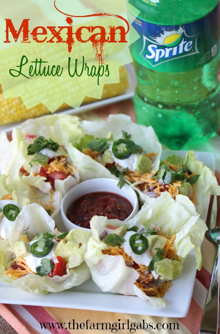 Mexican lettuce wraps pinterest 1