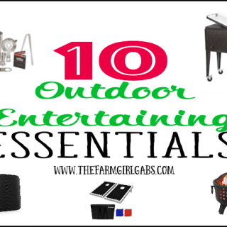 10 Outdoor Entertaining Essentials