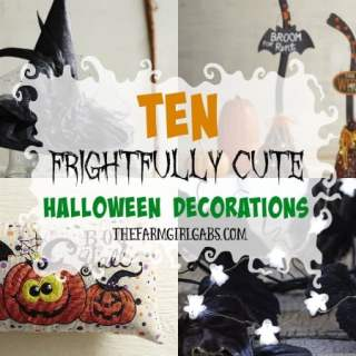 10 Frightfully Cute Halloween Decorations To Scare Up Some Fun