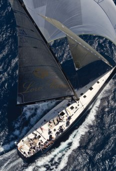 The annual Superyacht Regatta sponsored by Loro Piana